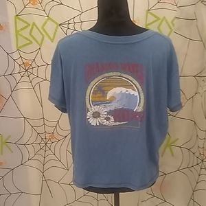 Roxy Tops - NWOT. Roxy Wave Graphic Front Pocket T-shirt XL
